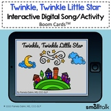 Twinkle, Twinkle Little Star - BOOM CARDS™ Song + Activity
