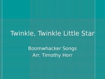 Twinkle, Twinkle Little Star- Boomwhacker