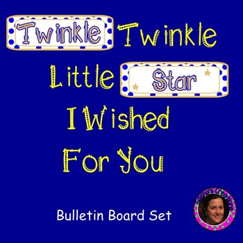 Twinkle Twinkle Little Star Bulletin Board Set