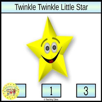 Twinkle Twinkle Little Star Clip Task Cards