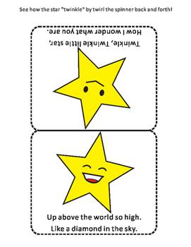 Twinkle, Twinkle, Little Star Craftivity