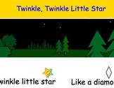 Twinkle, Twinkle Little Star Decodable Text for SmartBoard