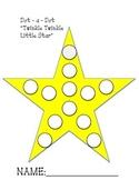 Twinkle Twinkle Little Star Dot a Dot