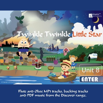 Twinkle Twinkle Little Star Flute And Oboe MP3 And PDF Unit 8.