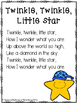Nursery Rhyme Twinkle Twinkle Little Star