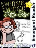 Twinkle, Twinkle, Little Star Nursery Rhyme Emergent Reader & Class Poster