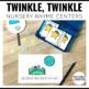 Twinkle Twinkle Little Star Nursery Rhyme Literacy Tasks