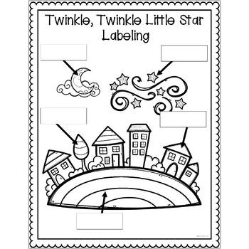 Twinkle Twinkle Little Star Nursery Rhyme Pack