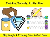 Twinkle, Twinkle, Little Star PLAY DOUGH & TRACING prek pr
