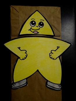 Twinkle Twinkle Little Star Paper Bag Puppet