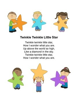 """""""Twinkle Twinkle Little Star"""" Popsicle Puppets"""