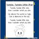 Twinkle, Twinkle Little Star Printable Poem - Music & Poet
