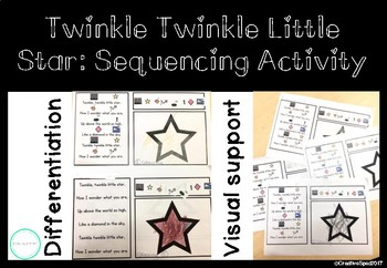 Twinkle Twinkle Little Star: Sequencing Activity