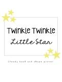 Twinkle Twinkle Little Star: Shape & Steady Beat Primer