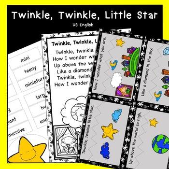 Twinkle, Twinkle Little Star Nursery Rhyme Pack US