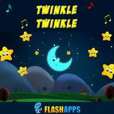 Twinkle Twinkle Little Star with Lyrics - Kids Songs Nurse