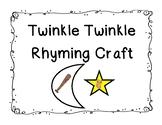 Twinkle Twinkle Rhyming Craft