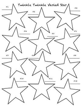 Twinkle Twinkle Varied Star