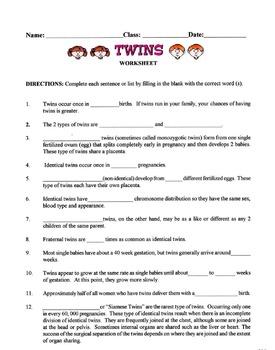 Twins Lesson