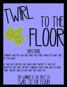 Twirl to the Floor - R-controlled