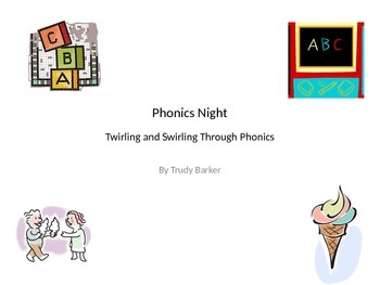 Twirling and Swirling Through Phonics