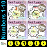 Twist & Learn number wheels 1-10