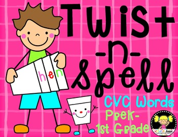 Twist-N-Spell {cvc Words}