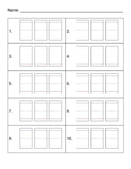 Twist & Turn Word Builder Worksheet