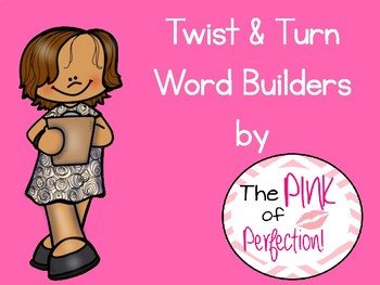 Twist & Turn Word Builders-CVC-K.RF.2.C