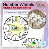 Twist and learn 1-10 number wheels (small circles)