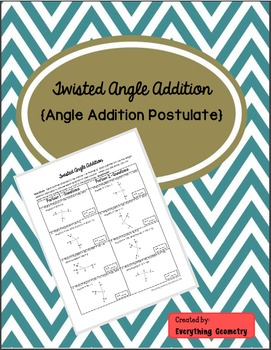 Twisted Angle Addition