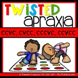 Twisted Apraxia: CCVC, CCCVC, CVCC, CCVCC