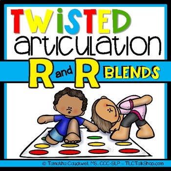 Twisted Articulation: R and R-blends