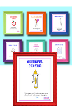 Twisted Classroom Poster (Cheerful Crayon)