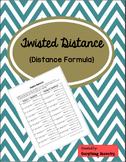 Twisted Distance Formula