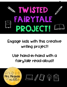Twisted Fairytale Project! - EDITABLE!