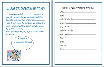 Twisted History Game: Mozart, Beethoven, and Tchaikovsky