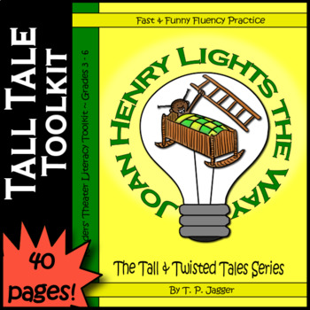 Twisted John Henry Readers' Theater Tall Tales-Joan Henry-Grades 3-6