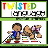Twisted Language: Pronouns