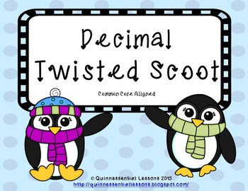 Twisted Scoot - Decimals (Grades 4 - 6)