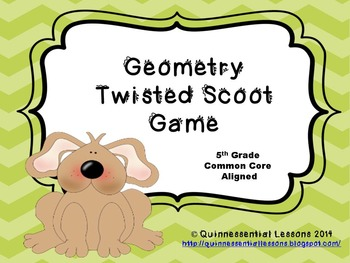 Twisted Scoot - Geometry (Grades 4 and 5)