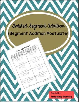 Twisted Segment Addition