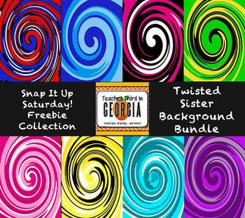 Twisted Sister Digital Paper Pack-Freebie!