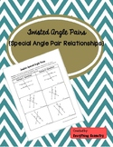 Twisted Special Angle Pairs