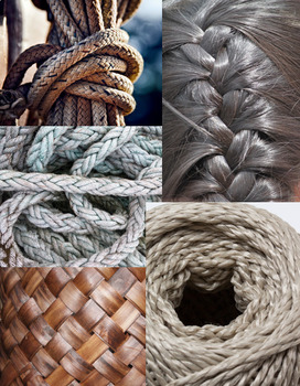 Twisted Tangled & Woven Photo Bank / Image Library for Drawing & Painting