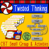 CBT Negative Thought Distortion & Irrational Thinking Challenges