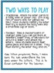 Twisted Tiddly Winks: Letter Recognition