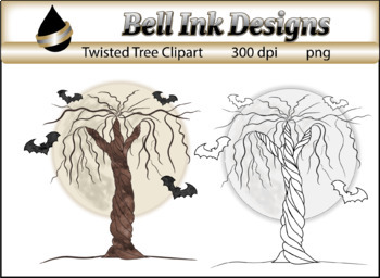 Twisted Tree Freebie Clipart