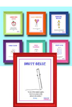 Twister Classroom Poster (Dusty Chalk)