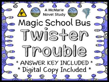 Twister Trouble (Magic School Bus #5) Novel Study / Comprehension  (24 pages)